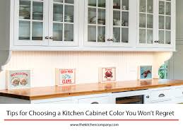 tips for choosing a kitchen cabinet color you won u0027t regret the