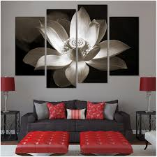 home decor simple flower painting wallpaper design for bedroom