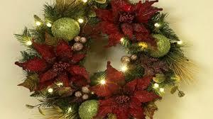 Decorated Christmas Wreaths Ideas by Outdoor Christmas Wreath Ideas Youtube