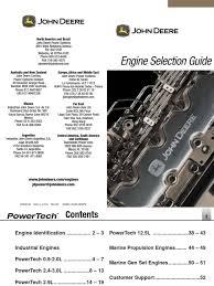 john deere powertech engine selection guide transmission