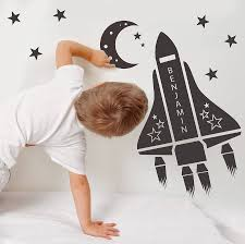 wall decal nice space shuttle wall decal space shuttle stickers space shuttle wall decal space themed wall decals personalized space shuttle wall stickers