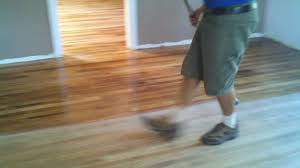Bona For Laminate Floor Applying Bona Mega Waterborne Wood Floor Finish In Phoenix