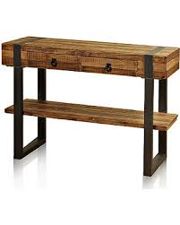 Metal Console Table Shopping S Deal On Fir Wood Console Table With