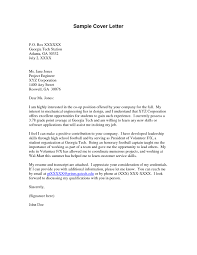 sample cover letter for software engineer ideas collection sample
