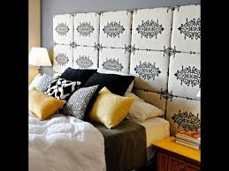 How To Make A Headboard With Fabric by How To Make A Fabric Headboard And Footboard Youtube