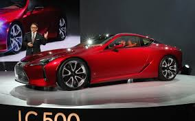 lexus car 2016 lexus lc 500 10 things we learned at the 2016 detroit auto show