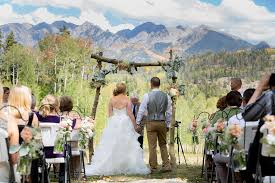 colorado weddings a destination wedding at silverpick lodge colorado weddings
