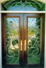 glass entry door sleek arcs 3d in color private glass front entry doors glass