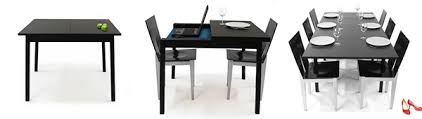 desk dining table convertible expandable convertible table by cecilia olsson for the home