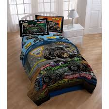 monster jam grave digger truck amazon com monster jam twin comforter grave digger monster truck