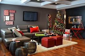 living rooms decorated for christmas christmas living room decor yellow curtain wood frame fireplace