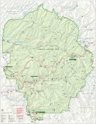 Sierra Nevada Mountains Map Sierra Nevada Mountains