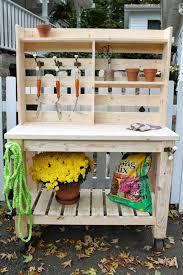 Garden Potting Bench Ideas 50 Best Potting Bench Ideas To Beautify Your Garden Bench