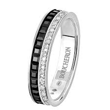 the story wedding band quatre black edition wedding band a maison boucheron jewelry