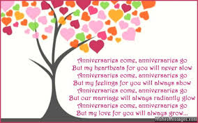 Wedding Greeting Card Verses Cute 1st Anniversary Card Poem For Wife Jpg 640 400 Quotes