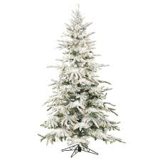 gorgeous vickerman potted flocked nordic pine potted tree