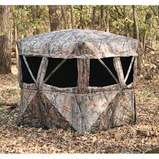 Bow Hunting From Ground Blind Muddy Vs360 5 Hub Ground Blind 222733 Ground Blinds At