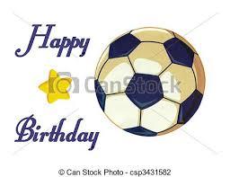 clip art of soccer happy birthday card beautiful soccer happy