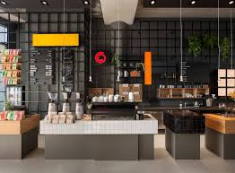 coffee bar ideas for modern kitchen with black wall and diy