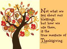 thanksgiving blessing quote autumn fall thanks list grateful