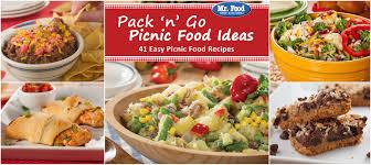 plan the perfect picnic free picnic ecookbook mr food u0027s blog