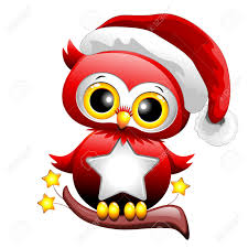 owl christmas baby owl christmas santa royalty free cliparts vectors and stock