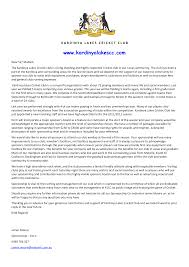 sports sponsorship letter corporate sponsorship letter template
