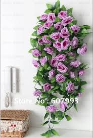 artificial flowers for home decoration faux silk ivy artificial fabric leaves vine greenery plant home
