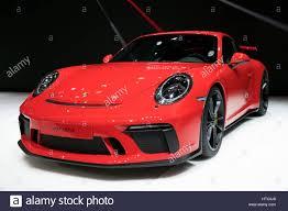 geneva switzerland march 7 2017 new 2018 porsche 911 gt3