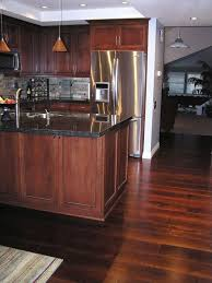 formal styled kitchen ideas with chic rustic hardwood floor for