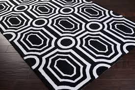 Geometrical Rugs Black And White Geometric Rug Rugs Decoration
