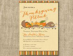 thanksgiving potluck invitations festival collections