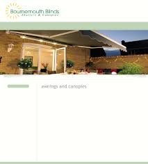 Powered Awnings Bournemouth Blinds Blinds Shutters And Canopies Awnings And