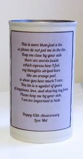 traditional 10th anniversary gift 1 year wedding anniversary gifts for him awesome traditional 1 year