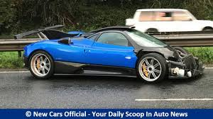 pagani dealership bespoke pagani zonda ps 760 damaged in british crash youtube