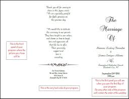 tri fold wedding program templates wedding programs wedding programs wedding fan programs wedding