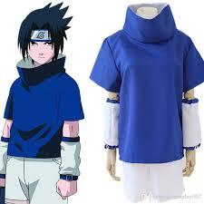 Naruto Halloween Costume Uchiha Sasuke Cosplay Costumes Uchiha Sasuke Young Clothing