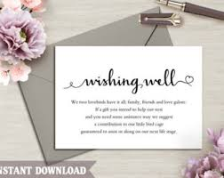 wedding wishes oxford diy wishing well printable wishing well card wishing well