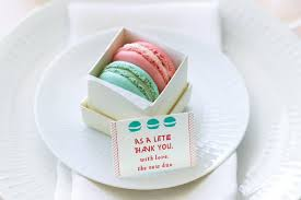 macaron wedding favors choosing the best chocolate wedding favors registaz