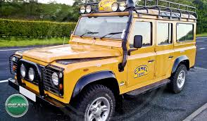 land rover defender 90 yellow sear motor holdings completed and sold defender vehicles