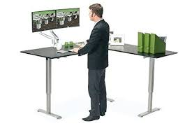 l shaped standing desk l shaped stand up desk l shape standing desk with hutch u shaped