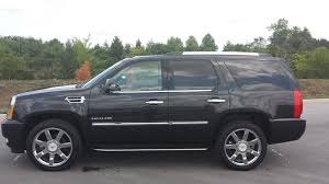 sold 2011 cadillac escalade awd 8 passenger 1 owner black raven