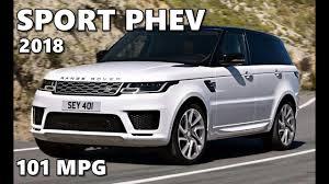 range rover sport phev hybrid 2018 youtube