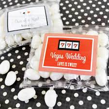 Vegas Wedding Favors by Vegas Themed Personalized Jelly Belly Bag Las Vegas Wedding