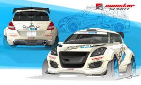 suzuki monster truck superswift phase1 concept モンスタースポーツ monstersport