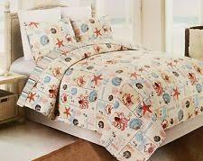 Starfish Comforter Set Starfish Quilt Ebay