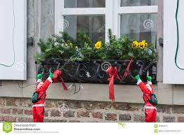 Christmas Decorations For Window Sills by Christmas Decoration On A Window Sill Stock Photo Image 82984441