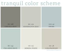 tranquil color scheme color schemes calming colors and home
