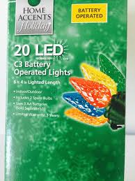 battery operated outdoor christmas lights with timer christmas
