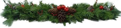 fresh blue ridge mountain garland wreaths centerpieces decorations
